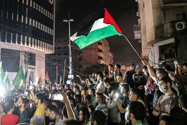 Xung dot o Dai Gaza anh 2