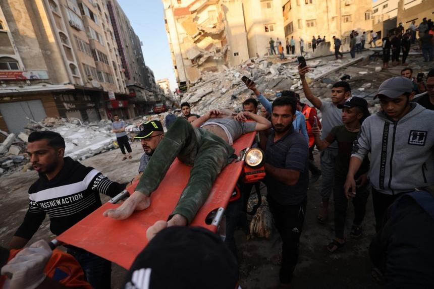 khong kich o Dai Gaza anh 1