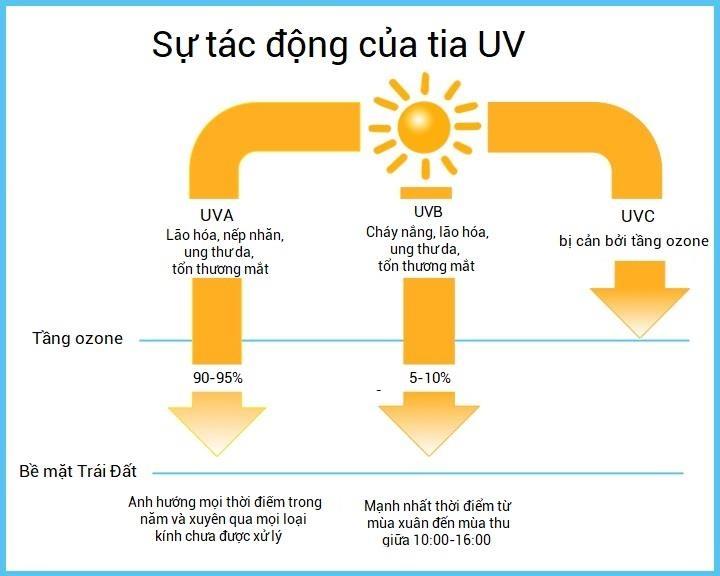 Nhiet do cao co lam chi so tia UV vuot nguong? hinh anh 1