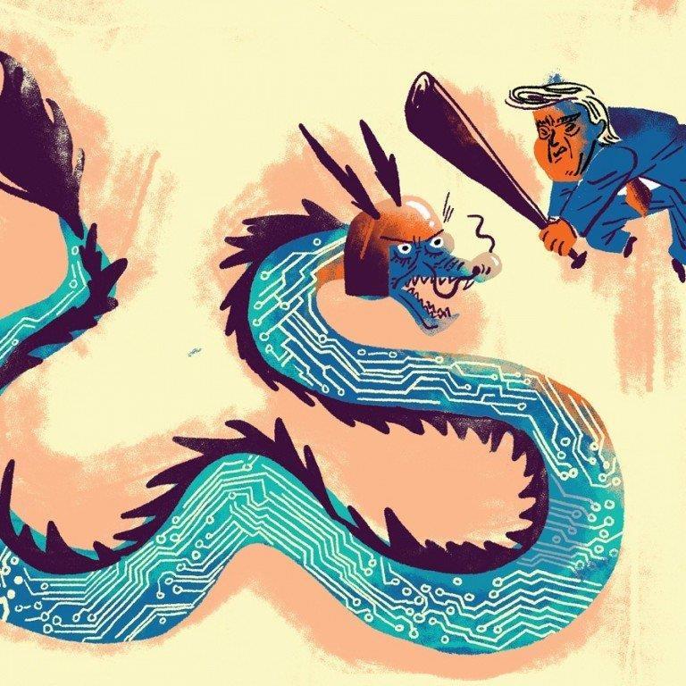 shenzhrn - Thâm Quyến Thấm Đòn Vì Mỹ Tấn Công 'Đầu Rồng' Huawei