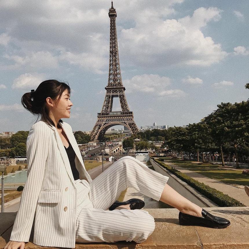 Tuong San - tu hot girl mang den top 8 Hoa hau Quoc te hinh anh 20