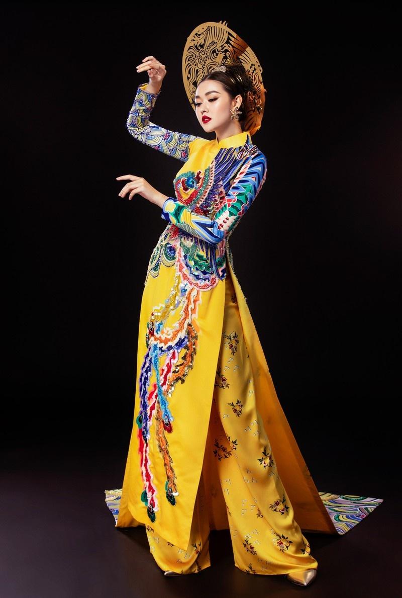 Tuong San - tu hot girl mang den top 8 Hoa hau Quoc te hinh anh 42