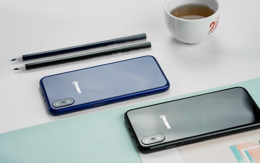 Asanzo S3 Plus - camera kep, man hinh tran vien, gia 2,5 trieu dong hinh anh 1