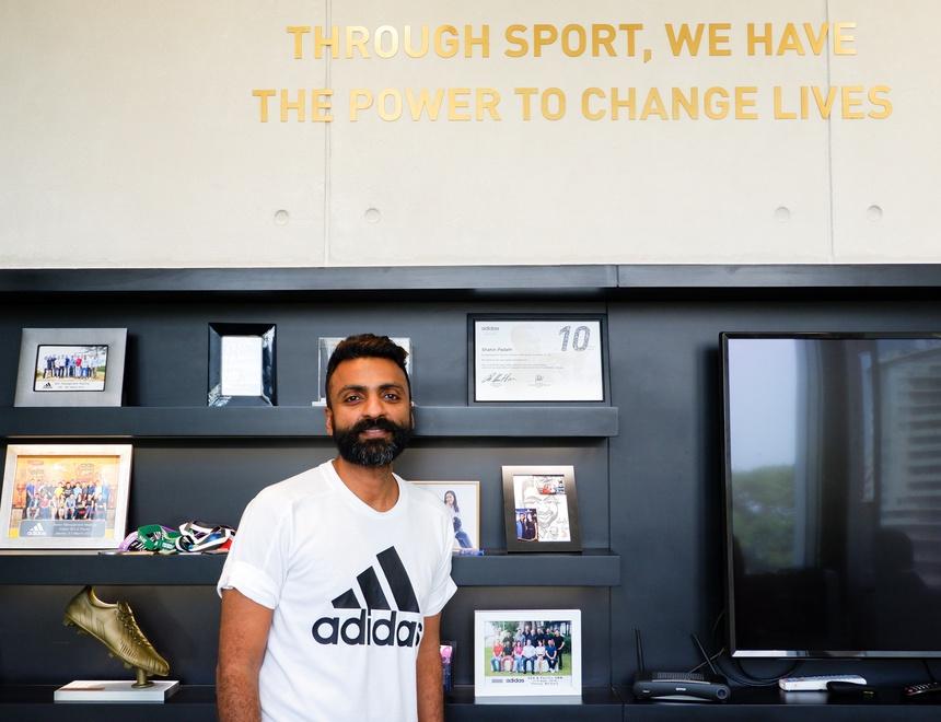 Image result for Shahin Padath tổng giám đốc adidas việt nam