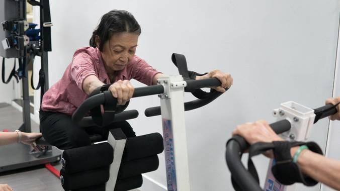 tập vật lý trị liệu phục hồi chức năng
