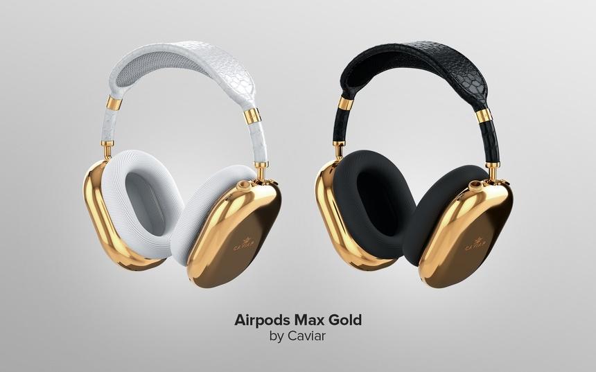 Tai nghe AirPods Max ma vang cua Caviar anh 1