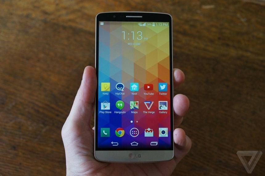 Nhung smartphone cua LG anh 2
