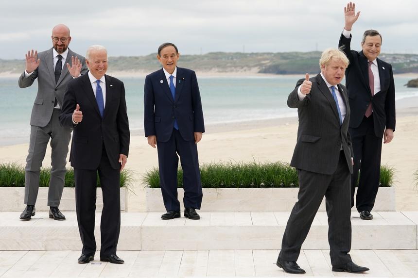 G7 chong dich Covid-19 anh 1