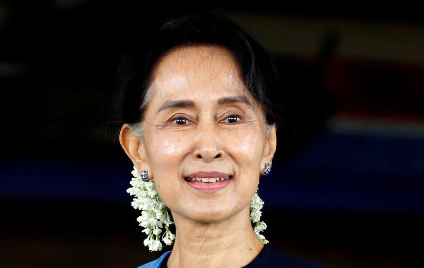 Aung San Suu Kyi bi bat anh 1