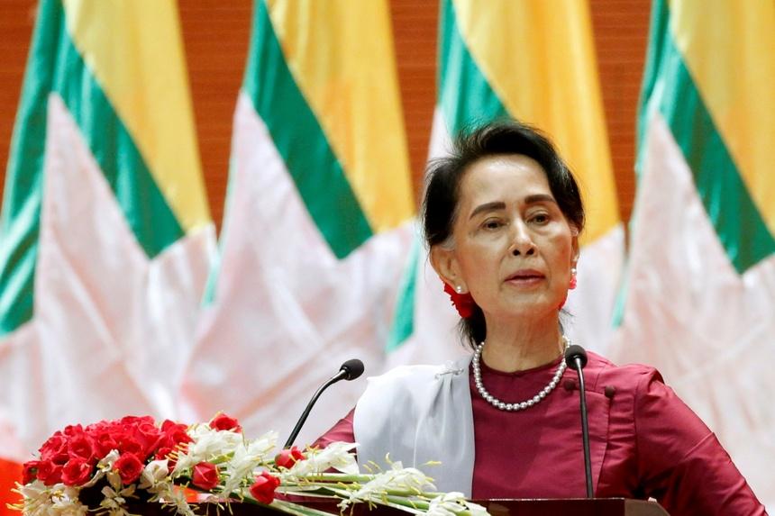 ba Aung San Suu Kyi la ai anh 5