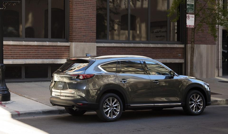 Mazda CX-8 2019 ra mat tai Nhat Ban, them dong co tang ap hinh anh 9