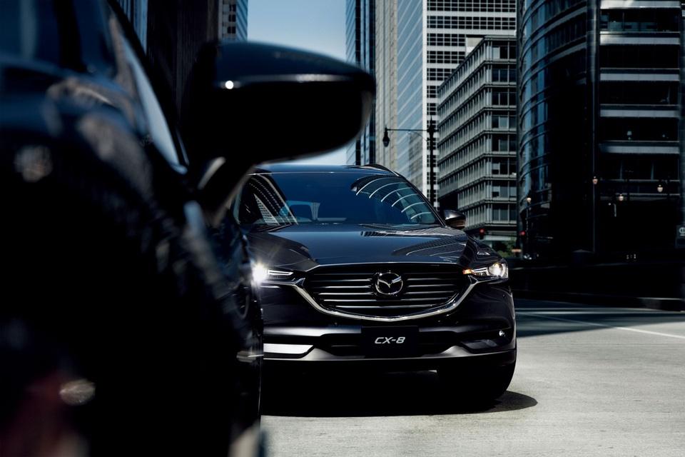 Mazda CX-8 2019 ra mat tai Nhat Ban, them dong co tang ap hinh anh 8
