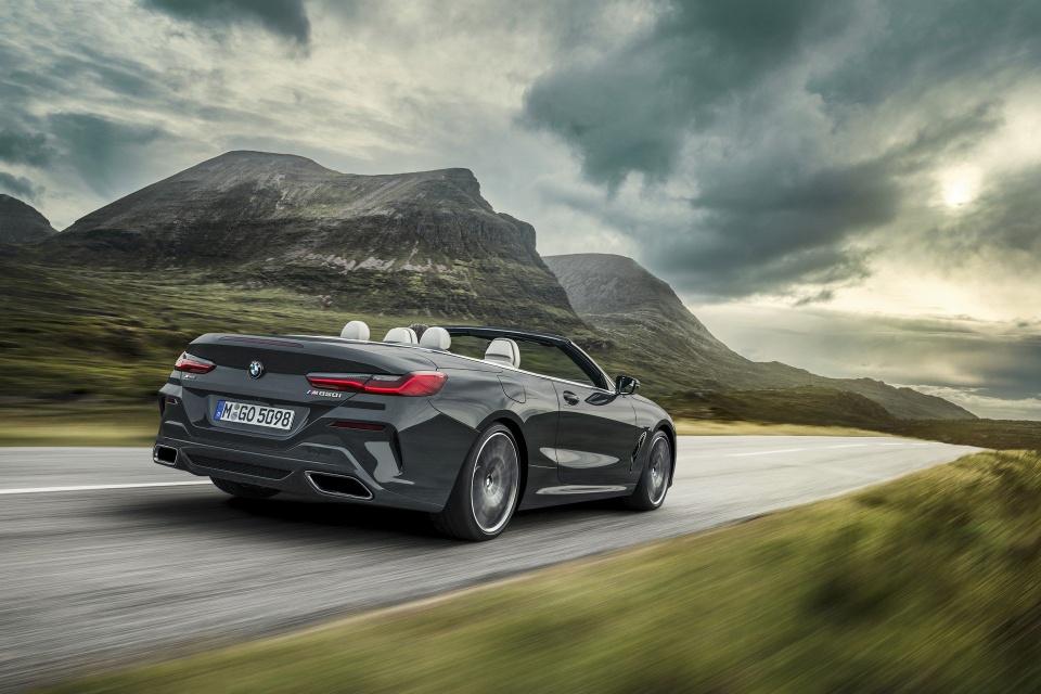 BMW 8-Series Convertible 2019 ra mat, gia tu 121.400 USD hinh anh 13