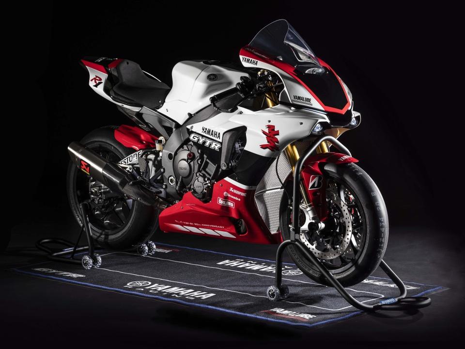 Yamaha YZF-R1 GYTR ban ky niem cuc dep ra mat, chi ban 20 chiec hinh anh 1