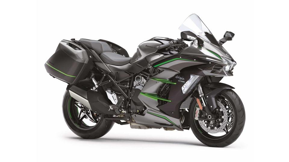 Kawasaki Ninja H2 SX SE+ 2019 hien dai hon, gia tu 25.000 USD hinh anh 5