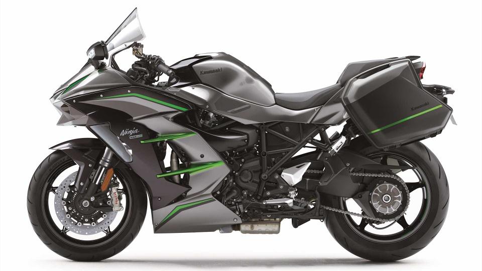 Kawasaki Ninja H2 SX SE+ 2019 hien dai hon, gia tu 25.000 USD hinh anh 3