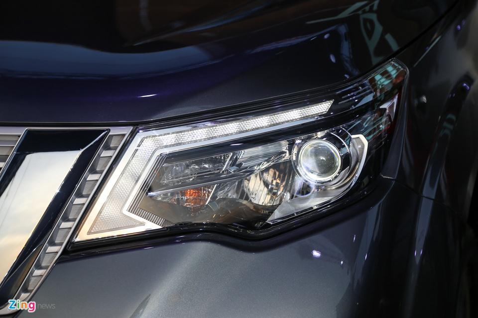 Nissan Terra 7 cho ra mat, gia tuong duong 650 trieu, ve VN dau 2019 hinh anh 6