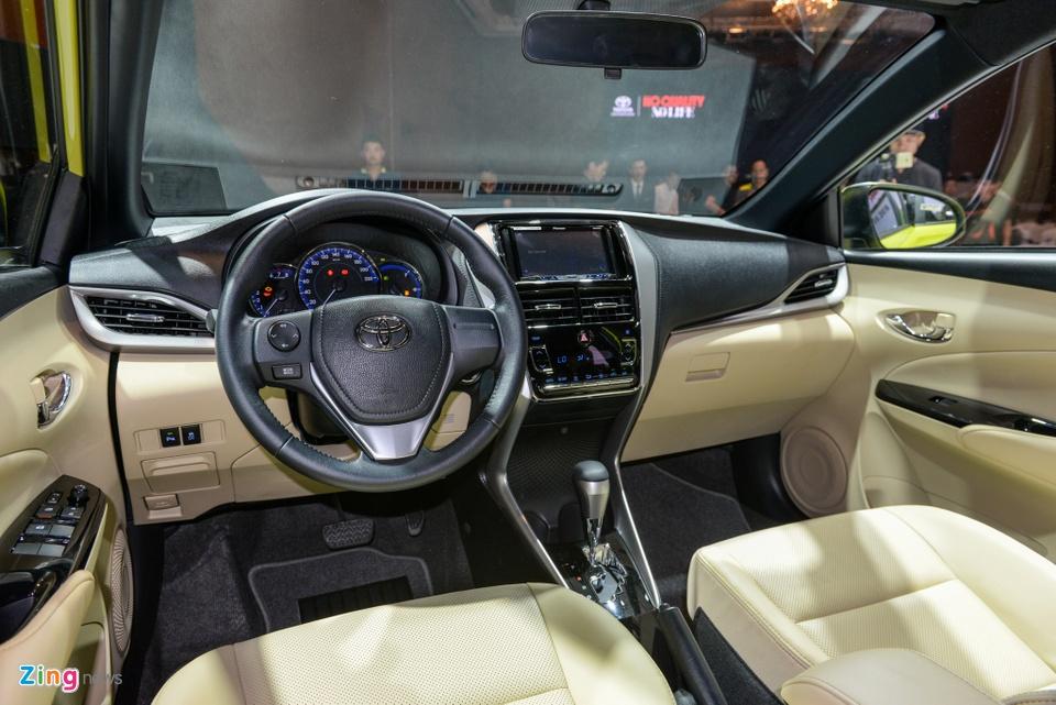 Chi tiet Toyota Yaris 2018 gia 650 trieu o VN, doi dau Honda Jazz hinh anh 6