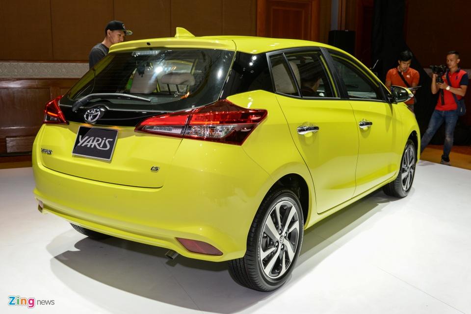 Chi tiet Toyota Yaris 2018 gia 650 trieu o VN, doi dau Honda Jazz hinh anh 5