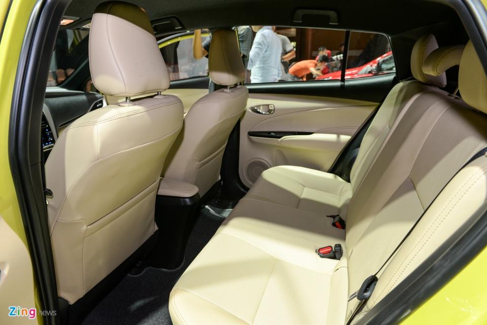 Chi tiet Toyota Yaris 2018 gia 650 trieu o VN, doi dau Honda Jazz hinh anh 7