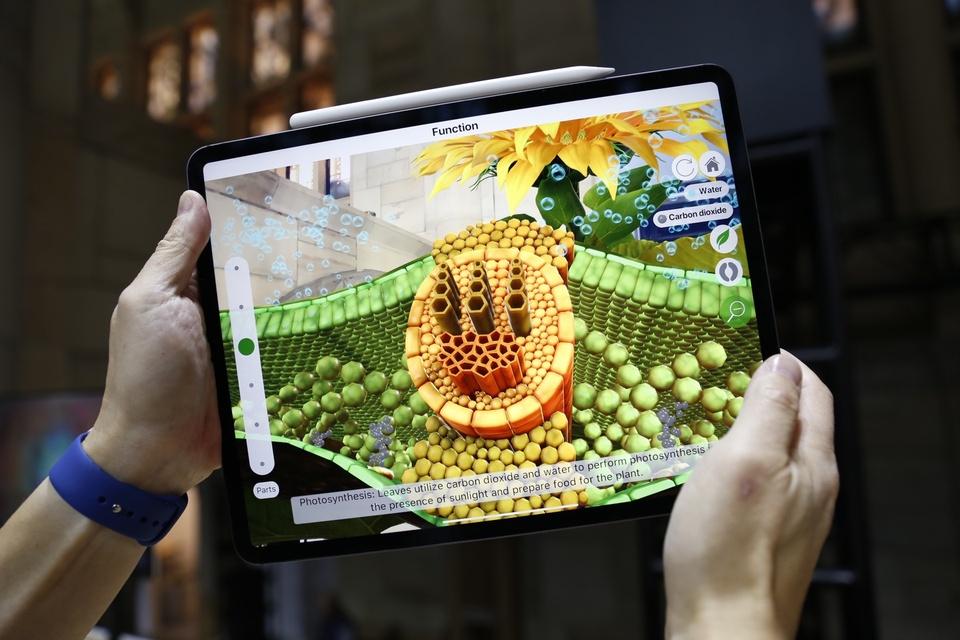 iPad Pro 2018 ra mat - cau hinh sieu manh, ho tro Face ID hinh anh 4