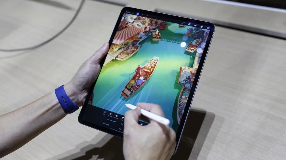 iPad Pro 2018 ra mat - cau hinh sieu manh, ho tro Face ID hinh anh 10