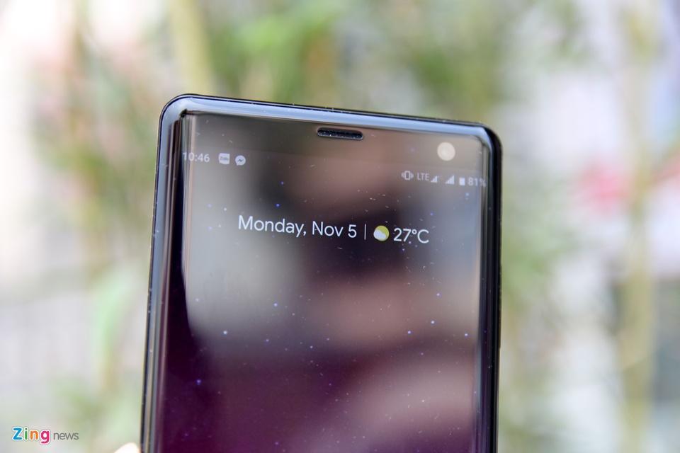Chi tiet Sony Xperia XZ3 - gia 20 trieu, khong ban chinh hang o VN hinh anh 3