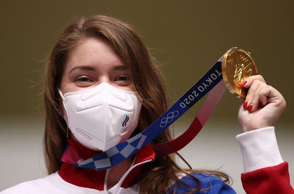 Olympic Tokyo van dong vien Nga anh 2