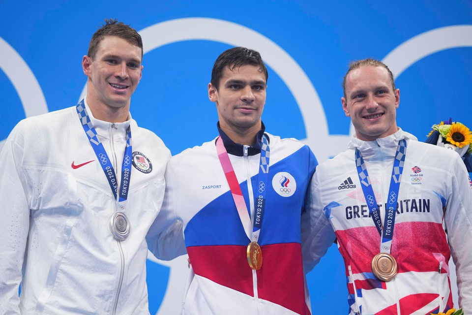 Olympic Tokyo van dong vien Nga anh 1