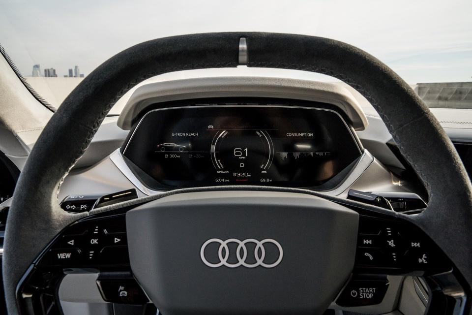 Audi e-tron GT Concept - dep mat, manh me va thong minh hinh anh 10