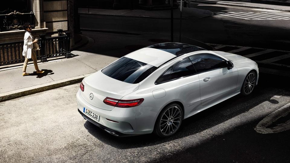 Mercedes-Benz E350 2019 dung dong co hybrid 300 ma luc hinh anh 4