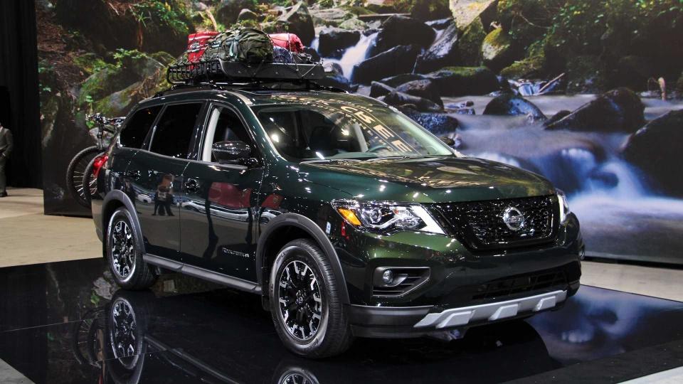 Nissan Pathfinder ra mat ban nang cap chuyen offroad hinh anh 3