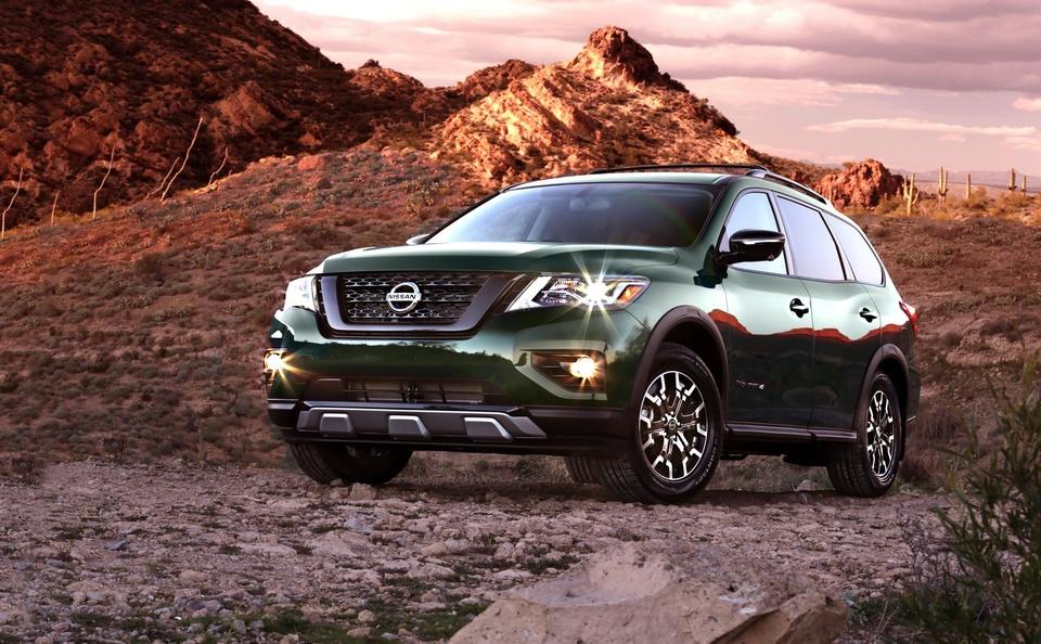 Nissan Pathfinder ra mat ban nang cap chuyen offroad hinh anh 12