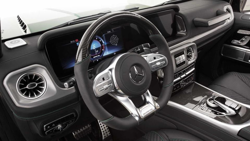 Mercedes-Benz G-Class Inferno xanh bo doi, tang khi dong hoc hinh anh 10