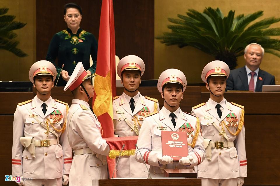 Tong bi thu Nguyen Phu Trong trong ngay dac cu Chu tich nuoc hinh anh 3