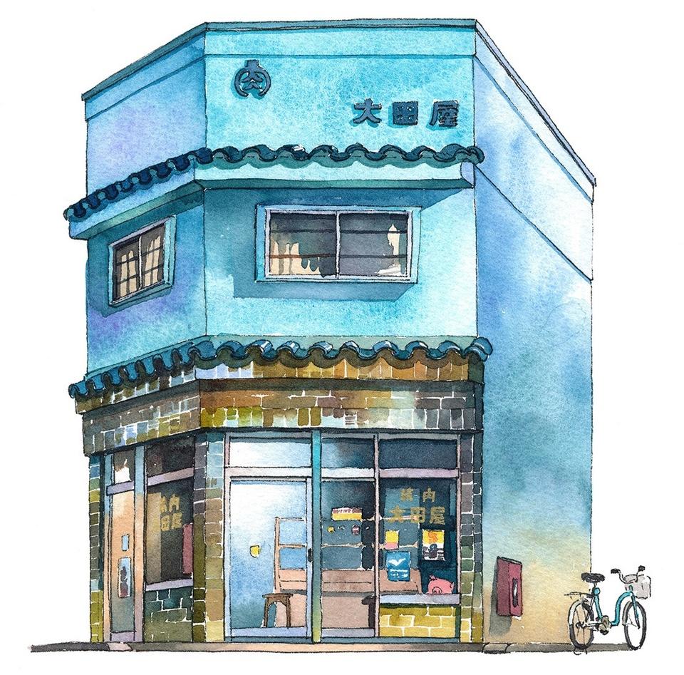 Tokyo dep gian di duoi nhung cua hang duoc phac hoa tren giay hinh anh 7