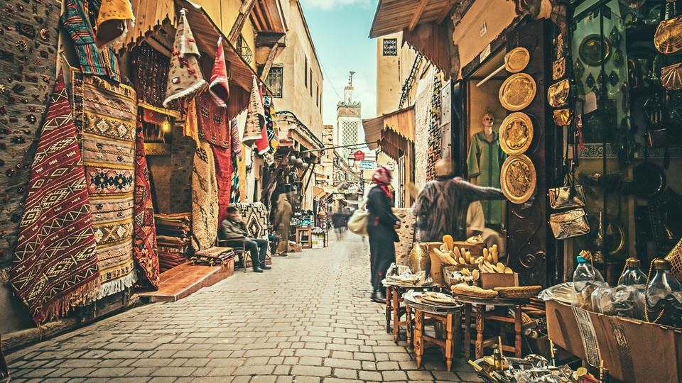 Morocco - toa lau dai cu ky va nhung o cua day sac mau hinh anh 9