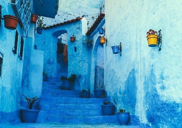 Morocco - toa lau dai cu ky va nhung o cua day sac mau hinh anh 4