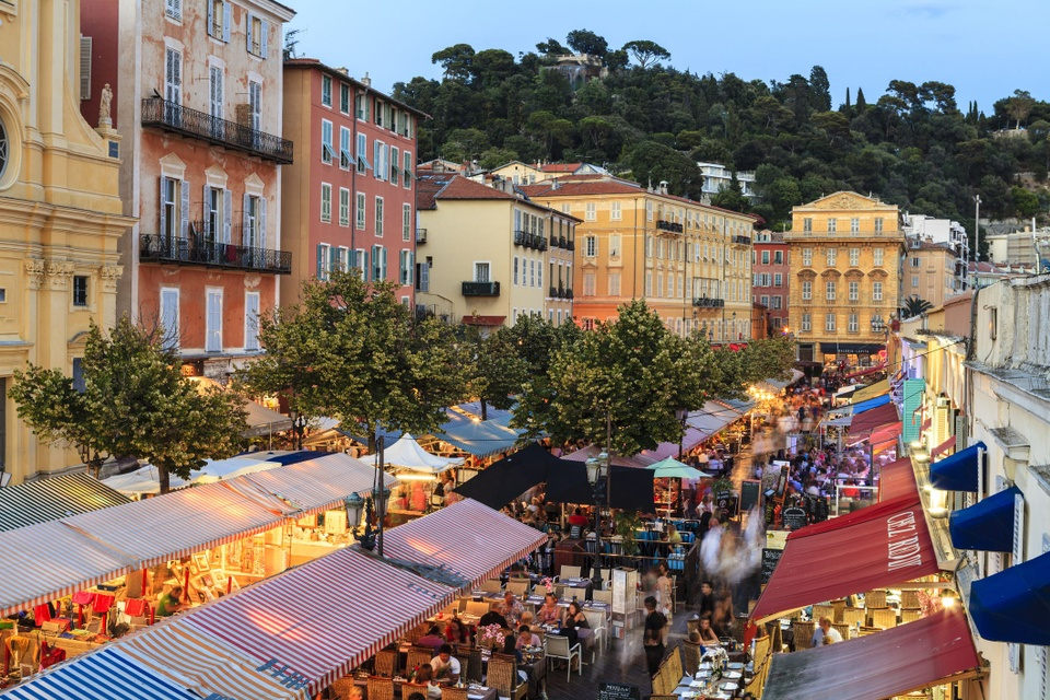 Chợ Cours Saleya (Nice, Pháp)