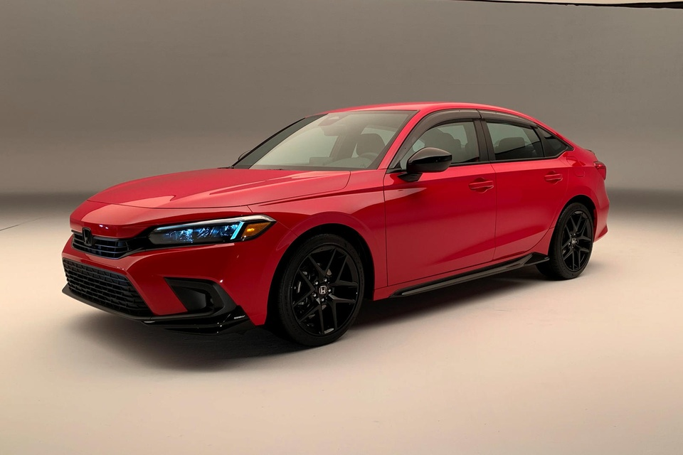 Honda Civic 2022 chinh thuc ra mat anh 3