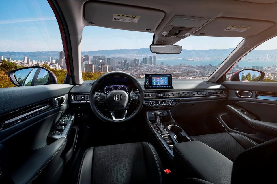 Honda Civic 2022 chinh thuc ra mat anh 8