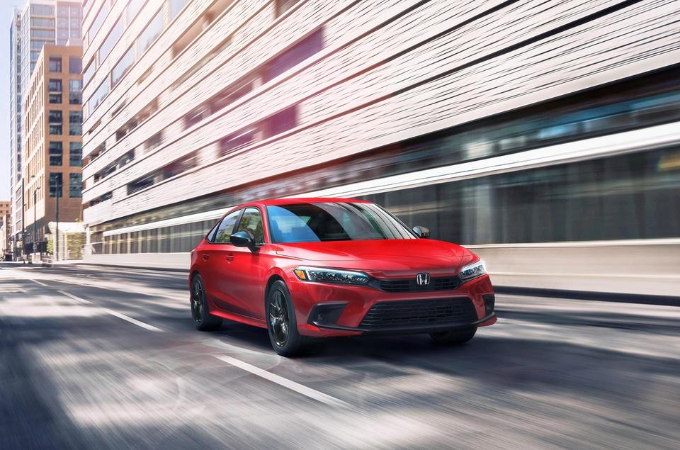 Honda Civic 2022 chinh thuc ra mat anh 1