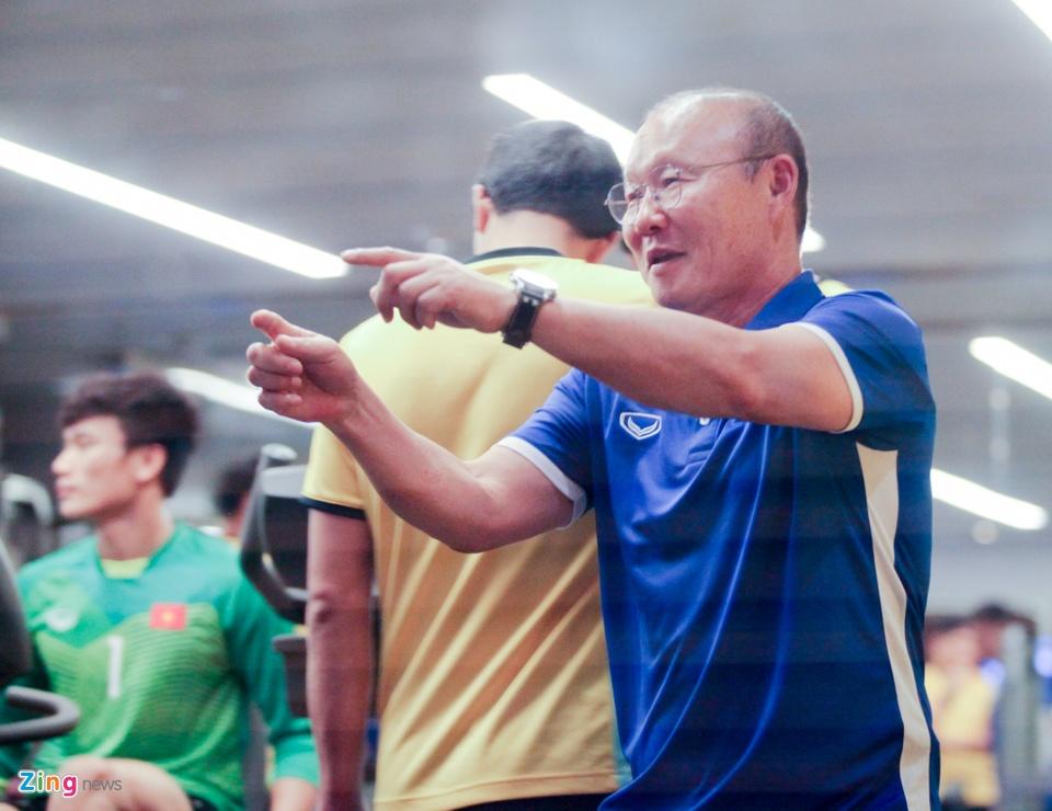 Tuyen Viet Nam hang say tap gym truoc tran gap Yemen hinh anh 2