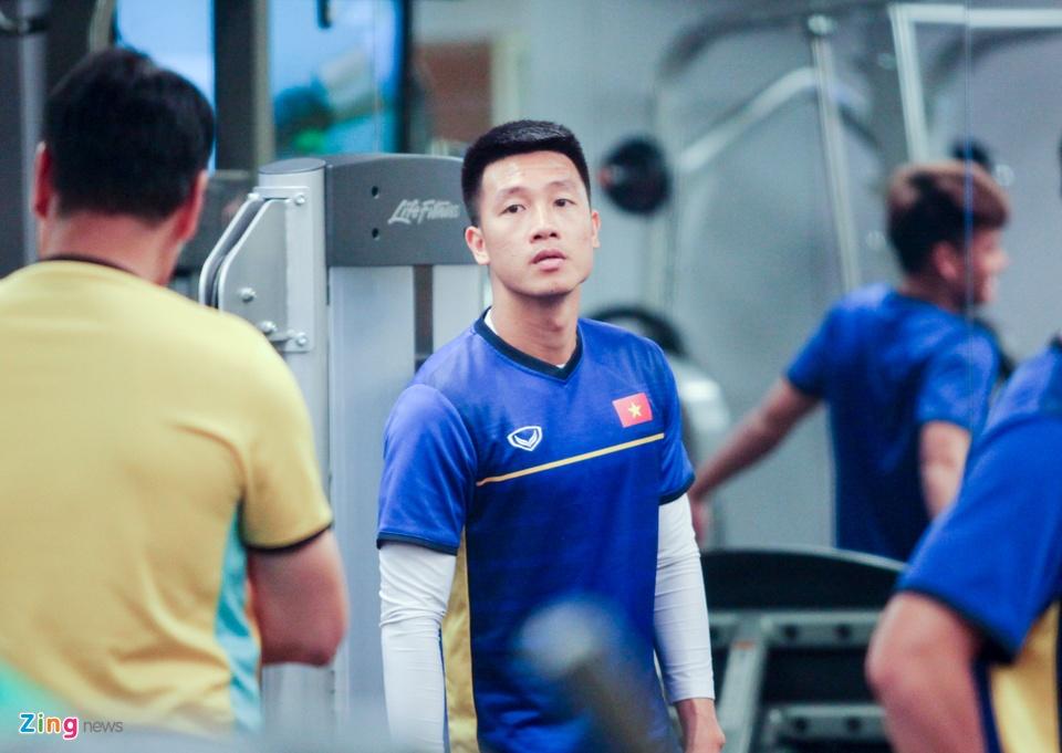Tuyen Viet Nam hang say tap gym truoc tran gap Yemen hinh anh 5
