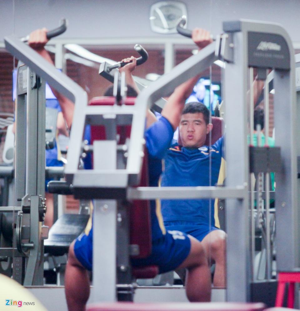 Tuyen Viet Nam hang say tap gym truoc tran gap Yemen hinh anh 6