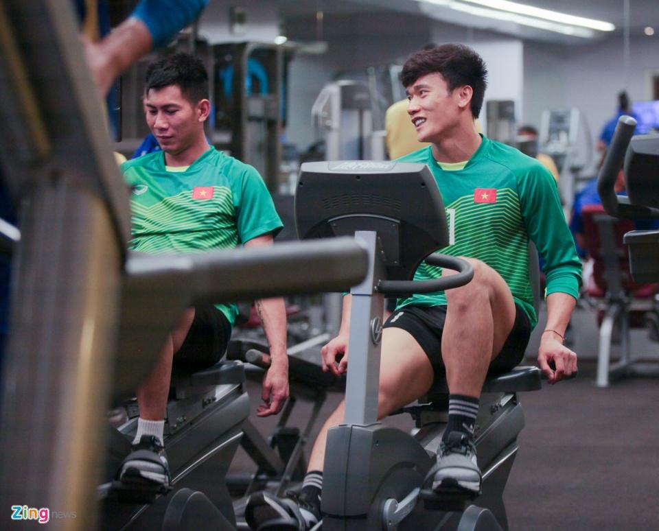 Tuyen Viet Nam hang say tap gym truoc tran gap Yemen hinh anh 7