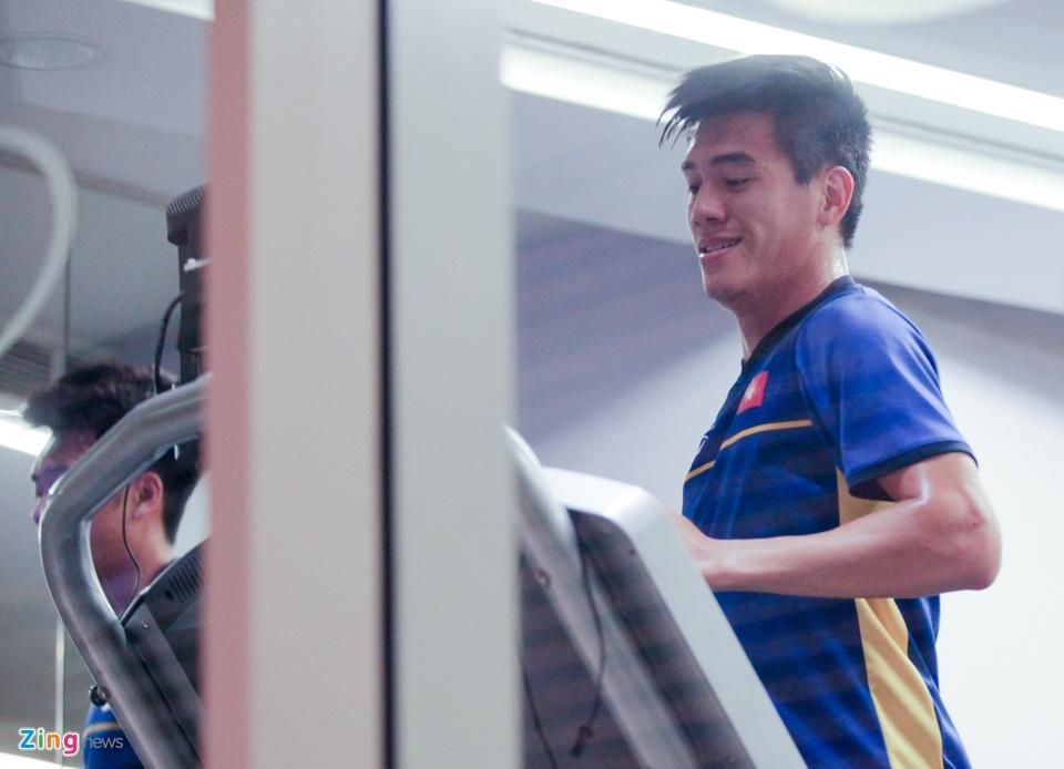 Tuyen Viet Nam hang say tap gym truoc tran gap Yemen hinh anh 8