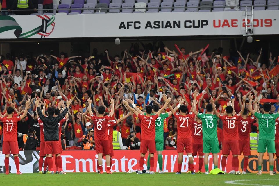 Tuyen Viet Nam lan dau no nu cuoi chien thang tai Asian Cup 2019 hinh anh 2