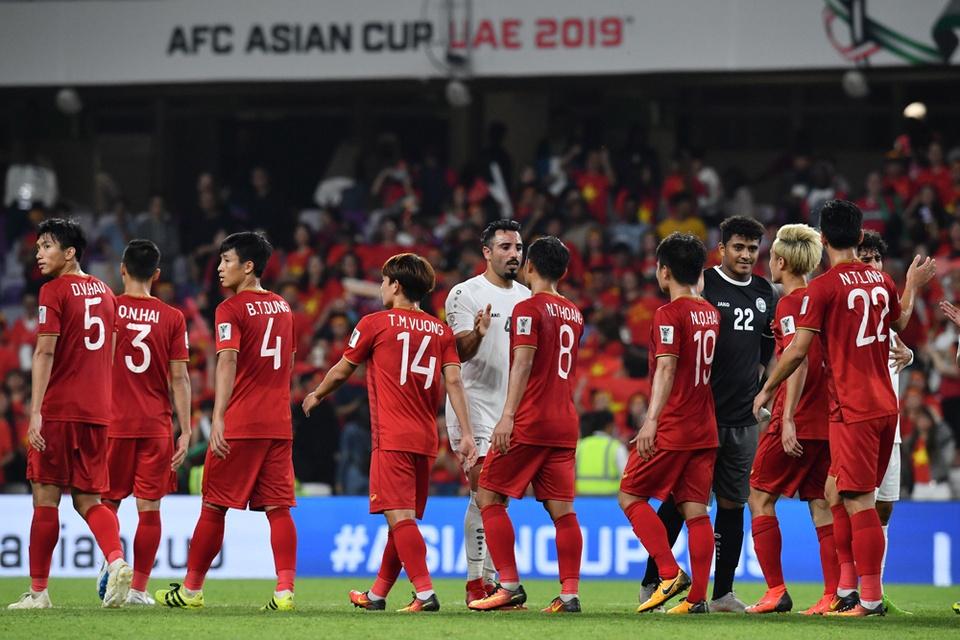 Tuyen Viet Nam lan dau no nu cuoi chien thang tai Asian Cup 2019 hinh anh 3