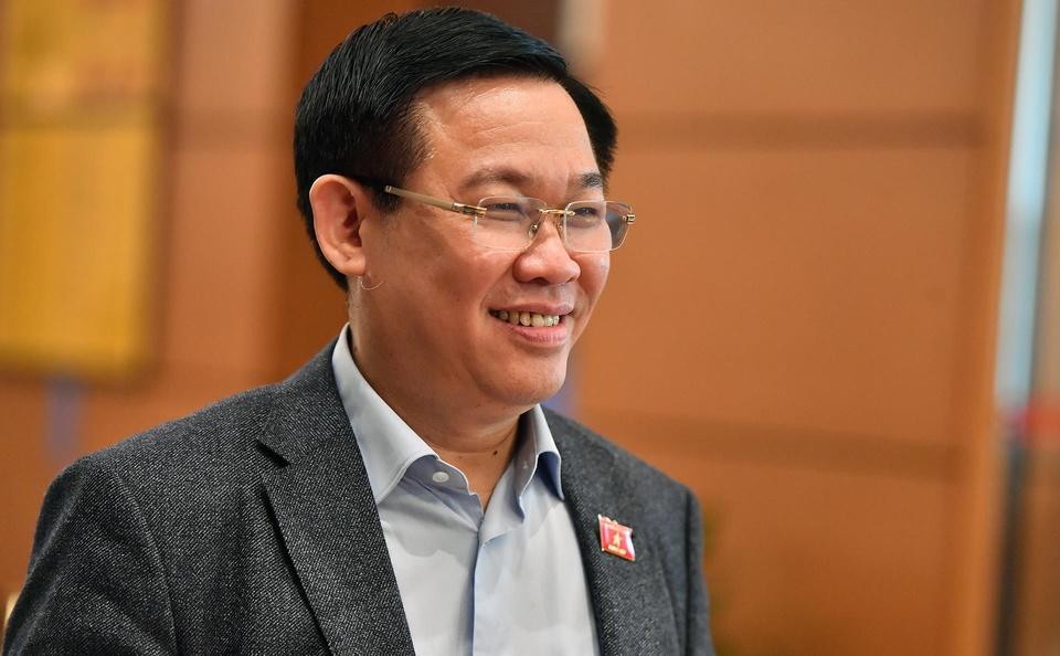 Pho thu tuong Vuong Dinh Hue doc tho ly giai tang gia dien vao thang 3 hinh anh